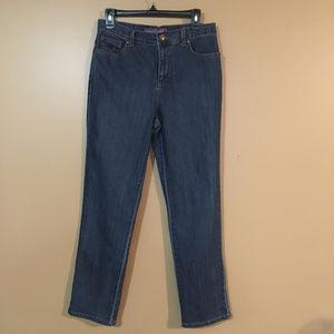 Gloria Vanderbilt Blue Jeans Missy Short Size 8